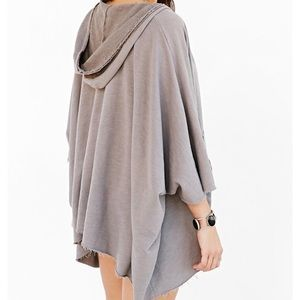 Truly Madly Deeply Hooded Boho Sweater Cardigan